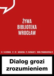 plakat_Z˙ywa Biblioteka 2014